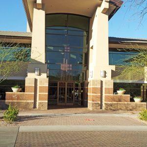 Hilltop Scottsdale 6909 Office Building - Front Entrance